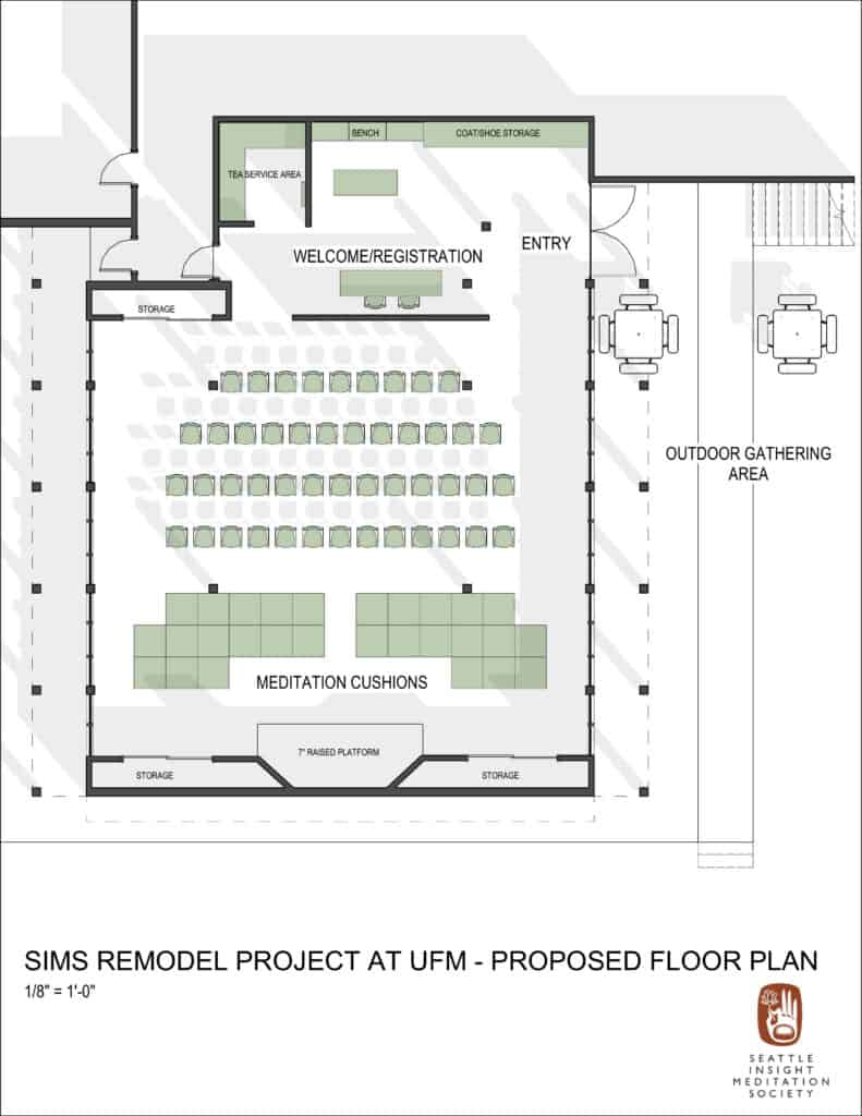 SIMS Remodel Project at UFM - Proposed Floor Plan